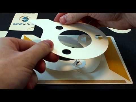 Large Iris card kit assembly instructions - YouTube