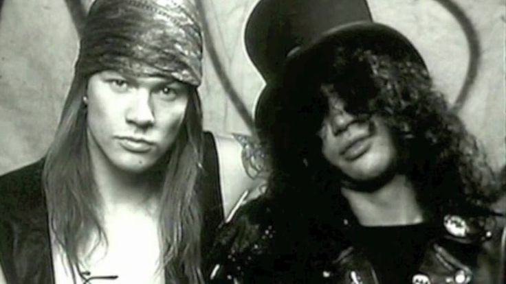 """#GunsandRoses' """"classic"""" lineup reunited Friday night at Los Angeles' Troubadour, an intimate gig that marked the first time #AxlRose, #Slash and #DuffMcKagan have performed together onstage since their infamous Buenos Aires gig on July 17th, 1993. @rollingstone  Read more: http://www.rollingstone.com/music/news/see-first-photos-of-axl-rose-and-slash-reunited-in-guns-n-roses-20160402#ixzz44oS81KmD  #GNR #Music"""