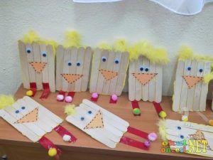 Popsicle-Stick-bird-craft