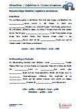 #Adjektive - #Wiewoerter Lückentext Ausgangsschrift #Arabisch  Arbeitsanweisungen sind in den Lösungen in Arabisch übersetzt. #Arbeitsblaetter / Übungen / Aufgaben für den Grammatik- und #Deutschunterricht - Grundschule.  Das Erkennen und Einsetzen von Adjektiven / Wiewörtern in Lückentexte, ist die Aufgabe dieser Arbeitsblätter. Texte ab der 3.Klasse.  Vereinfachte Ausgangsschrift  18 Arbeitsblätter + 4 Lösungsblätter
