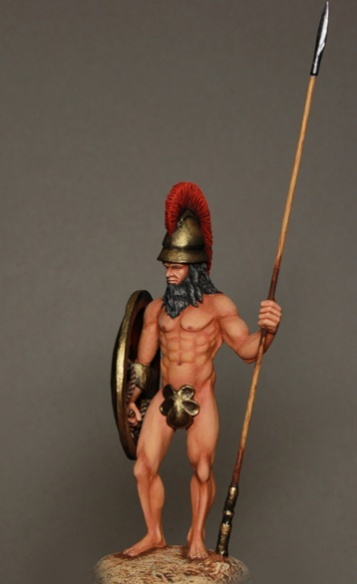 Wamp - A Miniatures Releases Spartan Warrior!