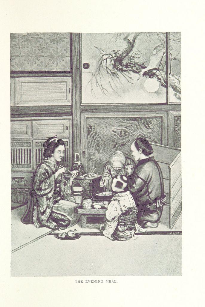 夕食 : アメリカ人が描いた江戸時代(幕末・明治初期)の人々と生活 140枚 - NAVER まとめ