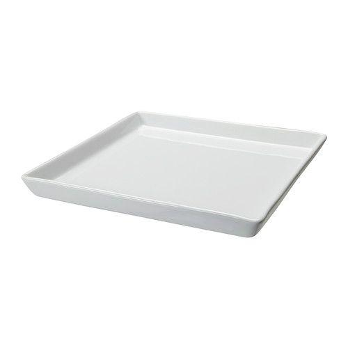 IKEA - IDEAL, Kerzen-/Dekoschale, Unterseite mit Kunststoffnoppen für sicheren Stand und zur Schonung von Oberflächen.