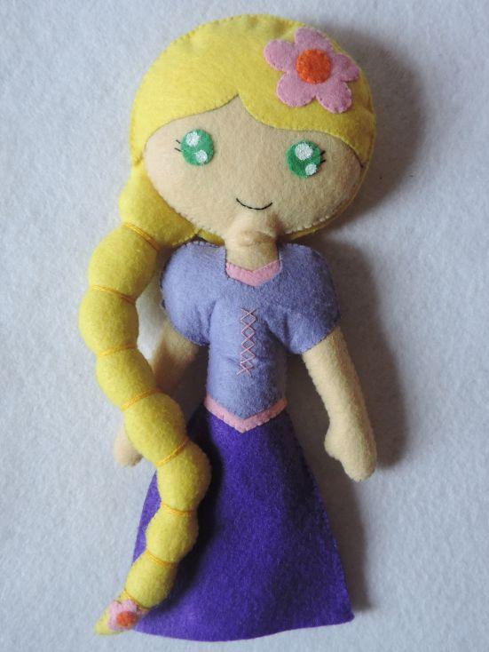 """Rapunzel Chibi"" SkinDoll Chibi inspirada en una princesa Disney."