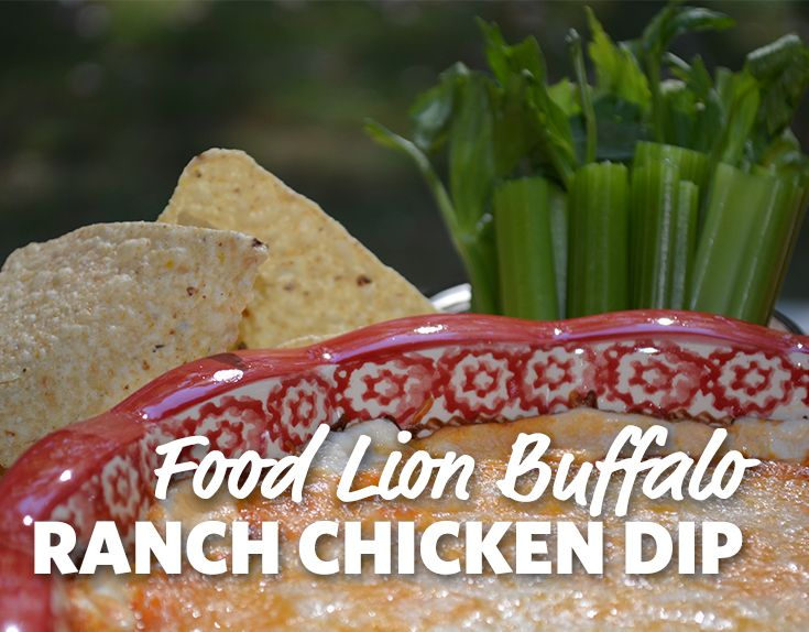 50 best food lion family of brands images on pinterest lion family buffalo ranch chicken dip forumfinder Gallery