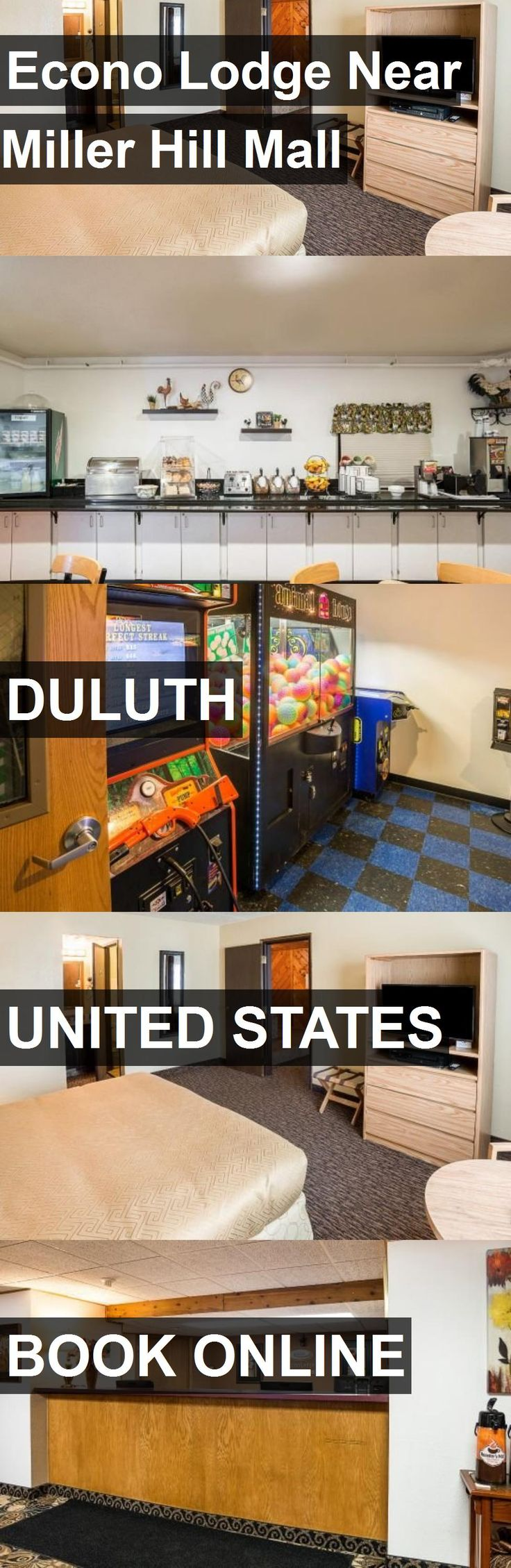 Hotel Econo Lodge Near Miller Hill Mall in Duluth, United States. For more information, photos, reviews and best prices please follow the link. #UnitedStates #Duluth #travel #vacation #hotel