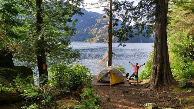 9 great camping spots within a couple hours of Van - I LOVE this list!