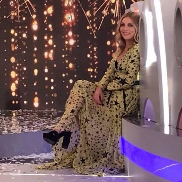 Stunning Smaragda Karidi in #MIGATO OD214 high heeled sandals at #notamia TV Show!  Shop link ► bit.ly/OD214-L14en