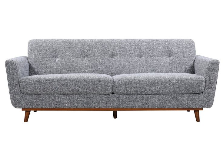 Alba Sofa (Pepper grey modern sofa) Modern Sofa from Mid in Mod. Find modern sofas ideas that are comfortable and affordable, yet look like modern sofas luxury living rooms would have. Discover more beautiful mid-century living room furniture and decor at midinmod.com