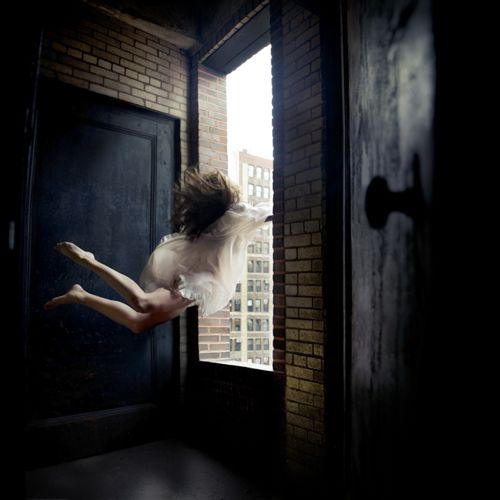 Boston photographer Alicia Savage #selfportrait #flying