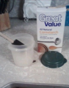 homemade cornstarch wallpaper paste - photo #16