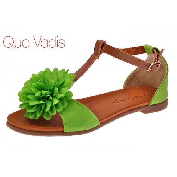 sandały hengst 227405611 zielone