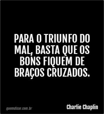 Frase de Charlie Chaplin