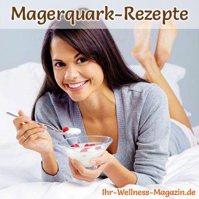25 Rezepte mit Magerquark mit denen Abnehmen zu einem gesunden Genuss wird ...