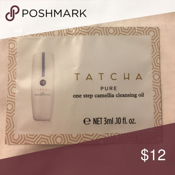 NEW Tatcha Pure One Step Camellia Cleansing Oil Never been opened or used Tatcha Makeup