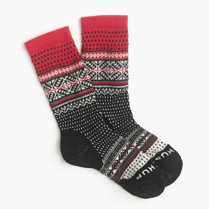 """These socks from Tokyo-based Chup are limited edition (seriously, the company makes only a handful each day) and made from moisture-wicking smartwool. Chup, an acronym for """"Classical Human's Universal Peace,"""" refers to the sun, the moon and the stars in the sky, which the Ainu (Japan's native people) worshipped. <ul><li>Wool.</li><li>Machine wash.</li><li>Made in the USA.</li></ul>"""