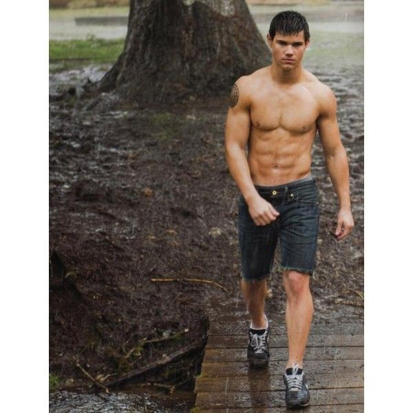 taylor lautner tattoo - Twilight - Zimbio found on Polyvore featuring polyvore, taylor lautner, twilight and jacob
