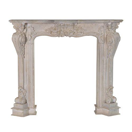 Spiselkrans, öppenspis eller dekorspis i konststen marmorkomposit från Manorstyle