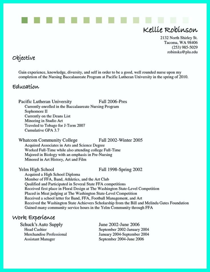 25+ beste ideeën over Cashiers resume op Pinterest - how to write a resume for a part time job