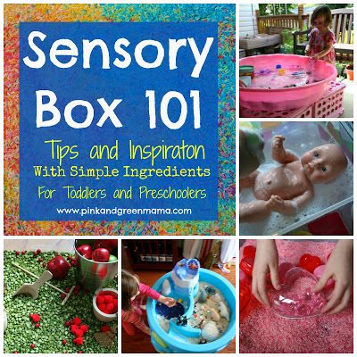How To Make A Sensory Box, Theme Ideas, and Frequently Asked Quesitons