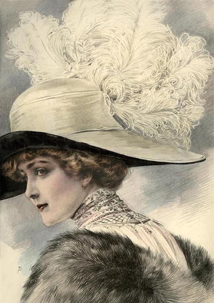 "1911 Grand Album de Chapeaux"" Chic Parisien 