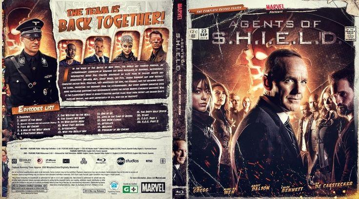 Agents of Shield Season 2 Blu-ray Case