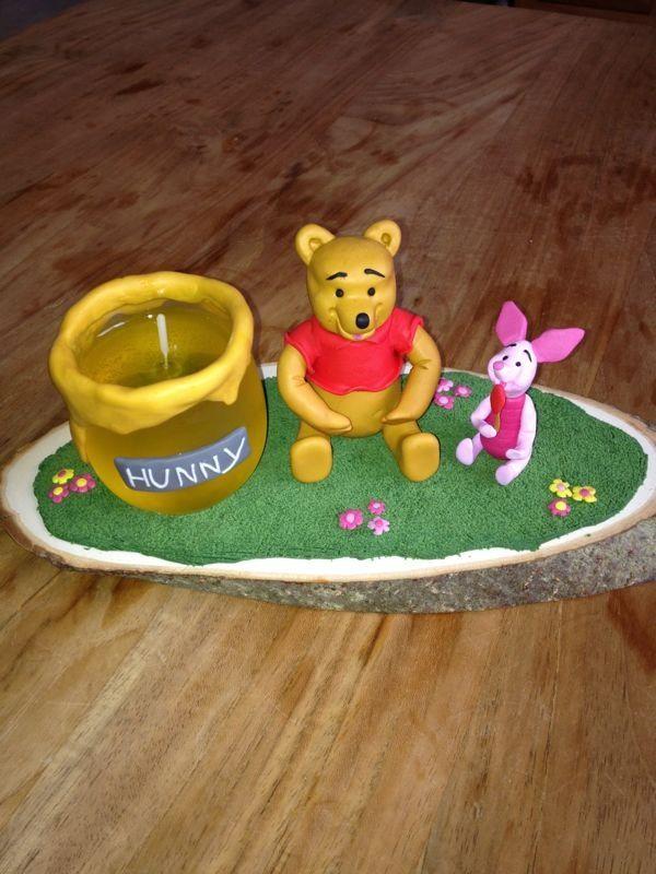 Winnie met honingkaars