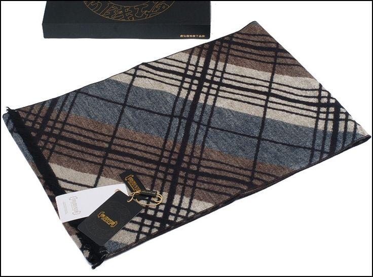 2014 gedrukte thermische goede kwaliteit rechthoek geïmiteerd zijde kasjmier sjaal mannen sjaal bruin cashmere1 stuks/lot