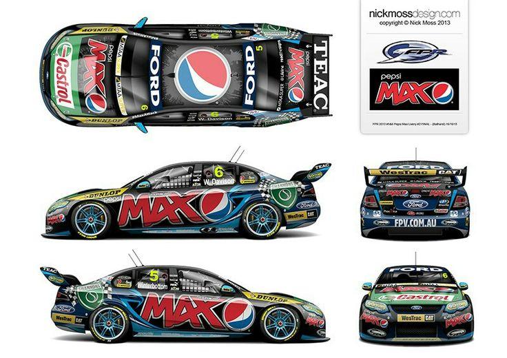 V8 SUPERCAR PORTFOLIO [FPR] | www.nickmossdesign.com - motorsport graphic design for every motorsport need [nick moss design]