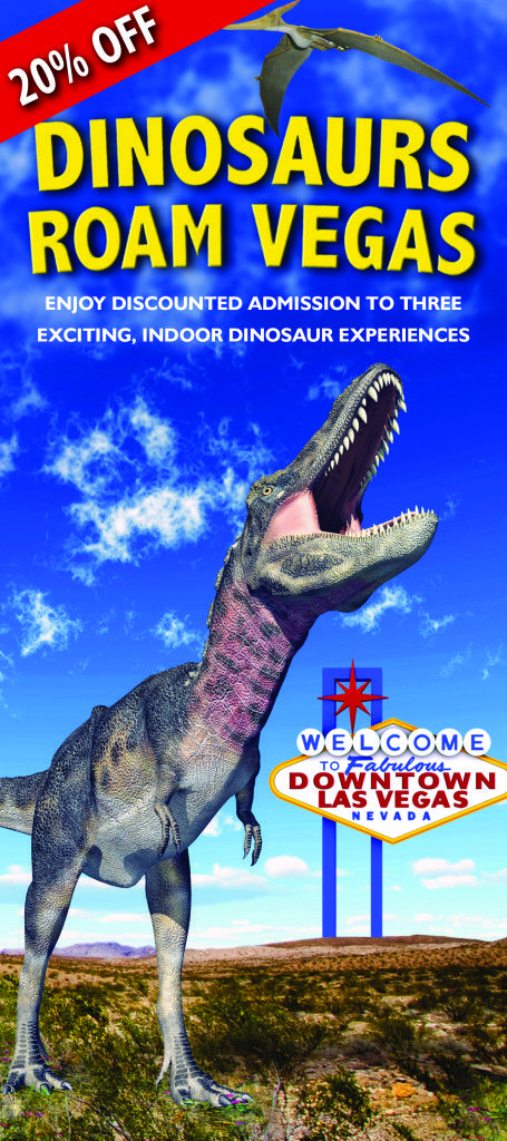Discount coupons for discover the dinosaurs