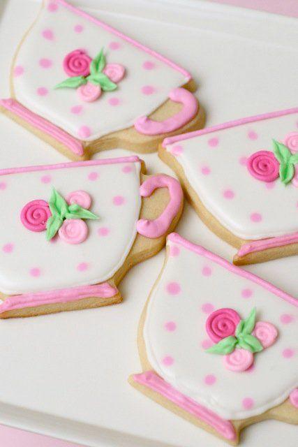 Cute Teacup Cookies