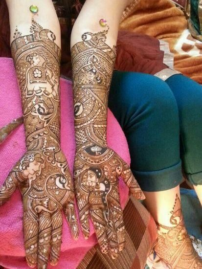 Gitanjali Mehendi Artist Info & Review | Mehendi in Delhi NCR | Wedmegood