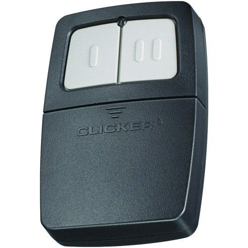 Chamberlain KLIK1U Clicker Transmitter Universal Garage Door Remote Control by Chamberlain. $22.70. Amazon.com                The Chamberlain KLIK1U Clicker Universal Remote Control is an easy-to-program remote control that is compatible with major brands of garage door systems. The Clicker can operate two different frequencies at the same time, so you can combine two remotes into one. Frequently used to replace lost or damaged remotes, the Clicker Universal Remot...