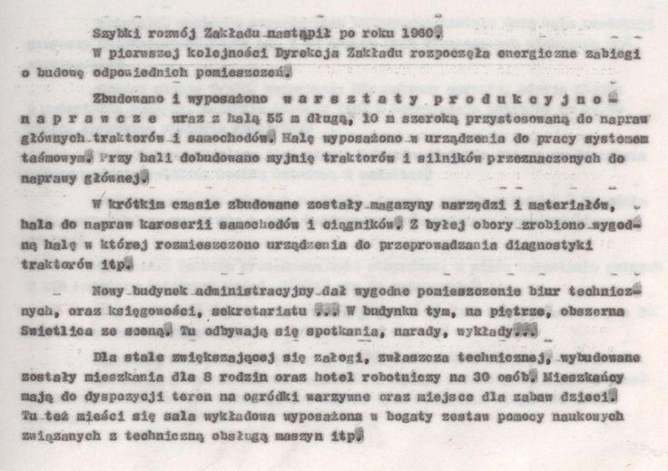 Z kroniki POM 6 (kopia maszynopisu)