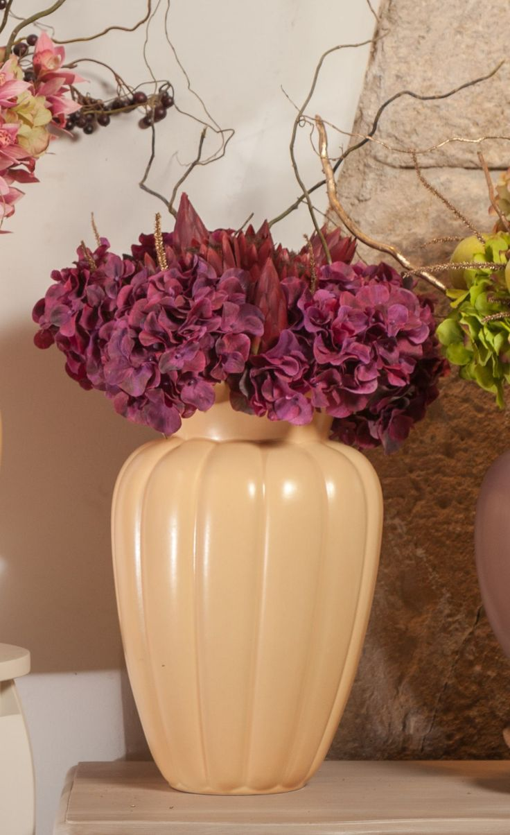 Dark Plum Hydrangeas for wonderful moments of yours