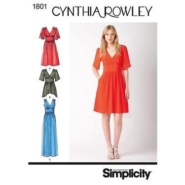 Simplicity 1801 Women's Dress