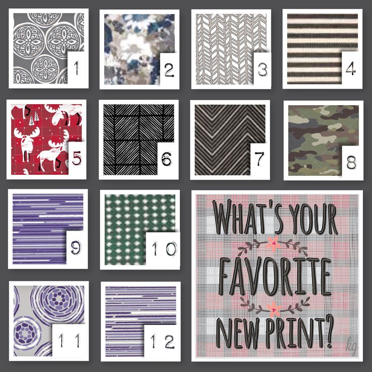 What's your new favorite fall/winter 2017 Thirty-One print? Fun interaction post for your VIP group and Facebook parties!