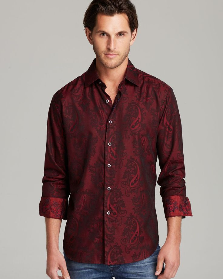 Robert Graham Shirt | Men's Fashion www.designerclothingfans.com