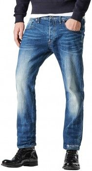 Джинсы G-Star Raw Defend Straight 51011.6564 33-32 Синие (8718601647136)