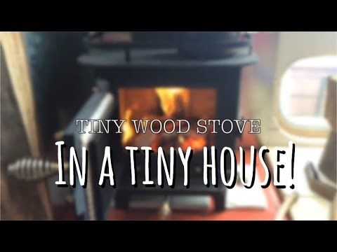 Heating in a Tiny House - Cubic Mini Wood Stove Review | TINY HOUSE TALK