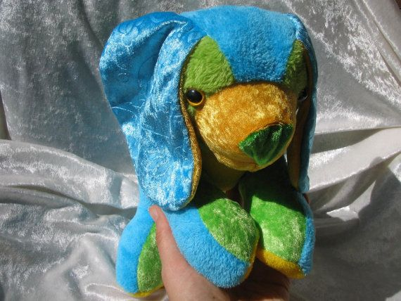 Hey, I found this really awesome Etsy listing at https://www.etsy.com/listing/161267284/happy-holidays-spaniel-cuddly-puppy-blue