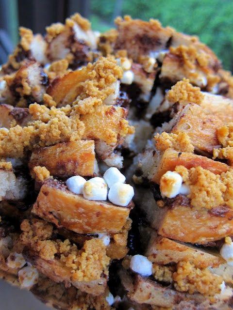 nutella banana pull apart bread cinnamon roll pull apart bread buttery ...