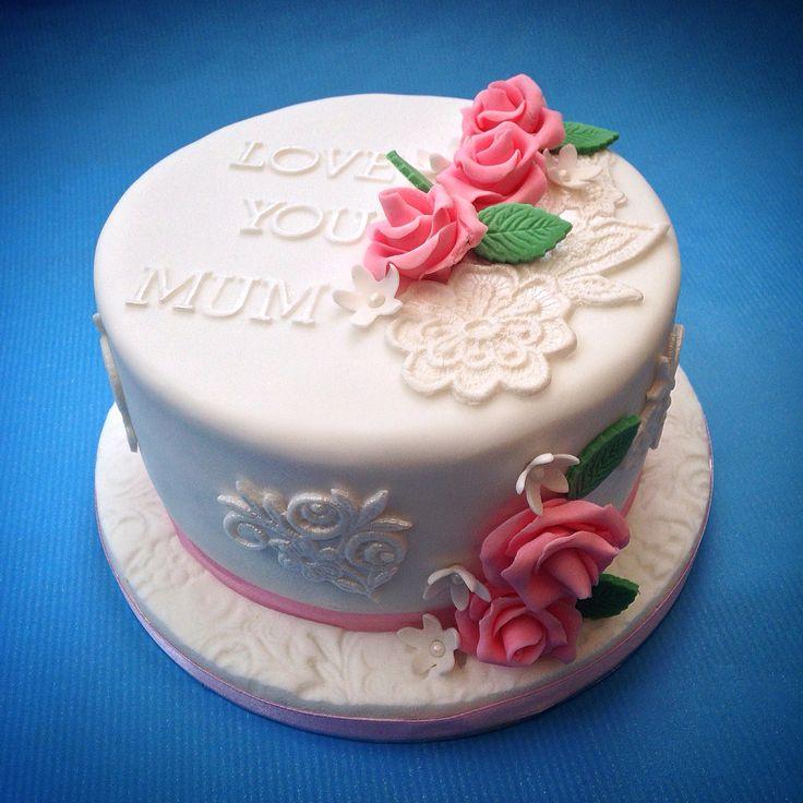 Cake for Mum www.caronscakery.co.uk