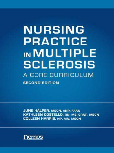 Nursing Practice in Multiple Sclerosis by June Halper. $24.42