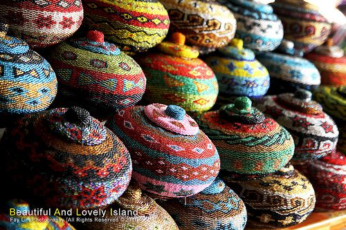 The colors of art - Ubud traditional art market, Ubud, Bali
