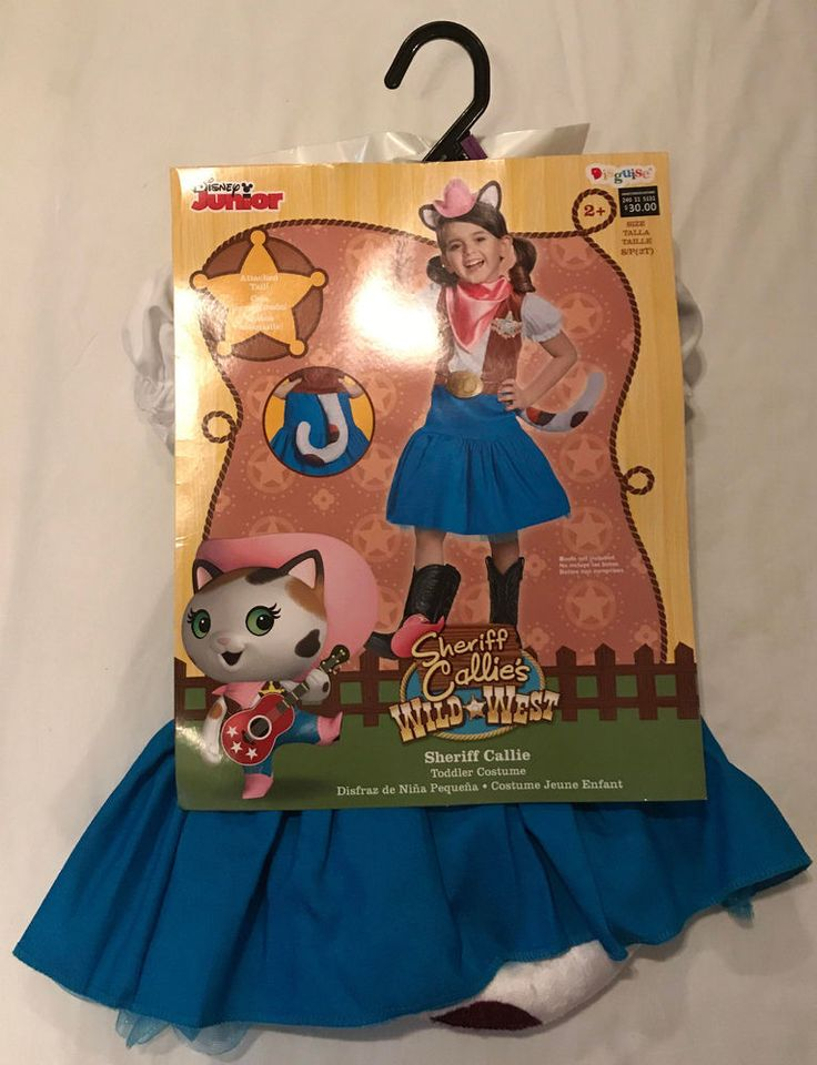 Disney Junior Sheriff Callie Halloween Costume Toddler 2T Wild West Dress Up #Disquise #Dress #Disney #junior #DisneyJr #sheriff #callie #sheriffcallie #wild #west #toddler #halloween #costume #halloweencostume #halloween2017 #halloweentime #MNSSHP #mickeysnotsoscaryhalloweenparty #DisneyWorld #MagicKingdom #trickortreat #october #fall #dressup