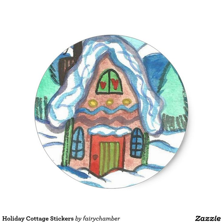 Holiday Cottage Stickers