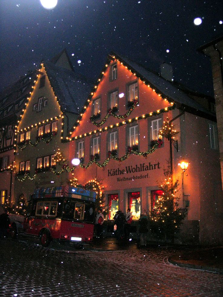 Kathe Wohlfahrt Christmas store...unbelievable! I've been here!