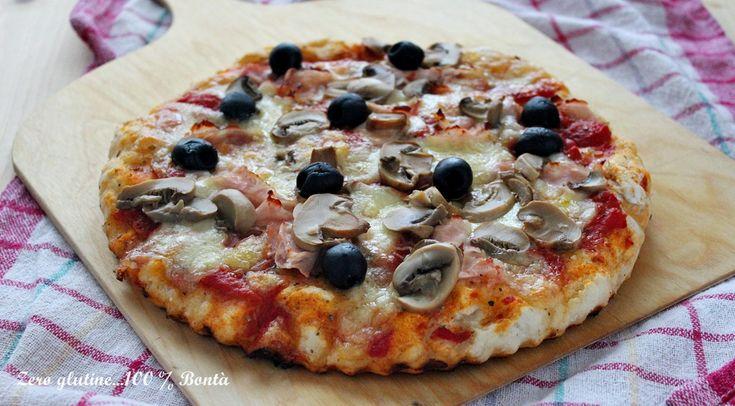 Pizza+capricciosa+senza+glutine