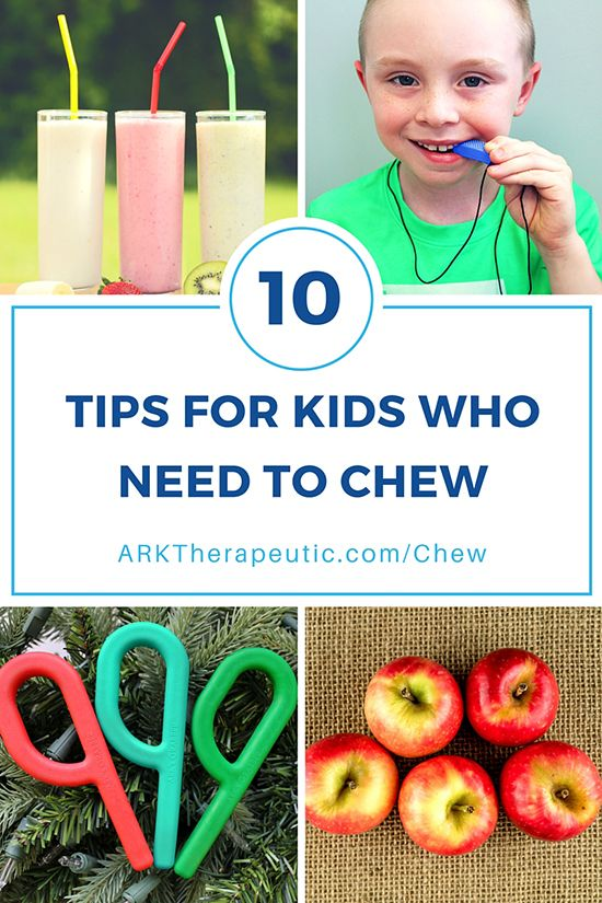 Tips & Strategies for Kids & Adults Who Need to Chew